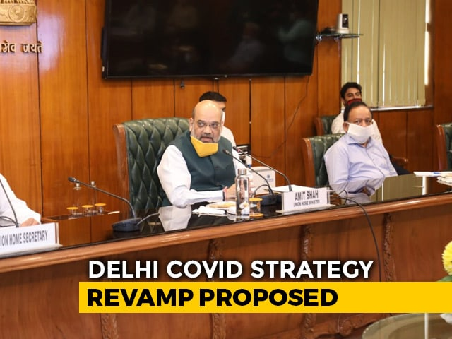 "Video : ""Every Death Has To Be Reported"": Amit Shah Meeting Sets Delhi Covid Plan"