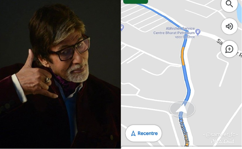 If the deal goes through, Amitabh Bachchan will record his voice for Google Maps from home