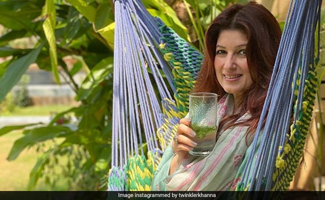 Twinkle Khanna Adds Green To Her House By Recycling Old Bottles