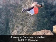 Backflip On The Edge Of A Cliff: Viral Video Has Twitter Divided