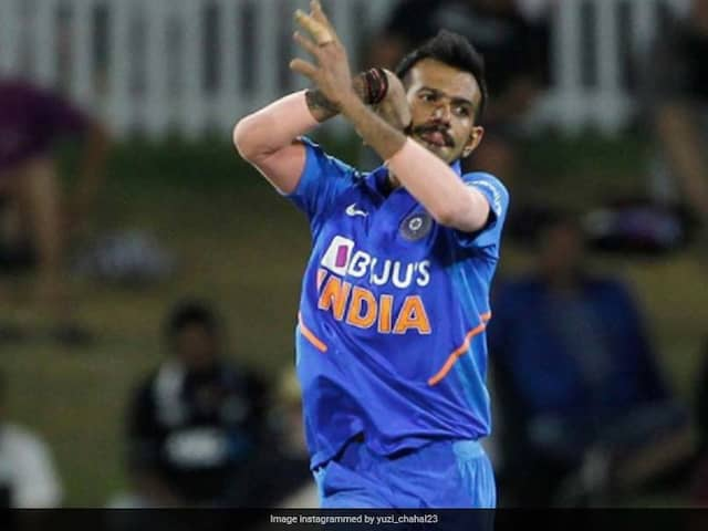 """Yuzvendra Chahal Says Need To """"Figure Out A Solution"""" To Bowl Without Using Saliva On Ball"""