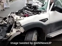 9 Killed In SUV-Container Truck Collision On Lucknow-Prayagraj Highway