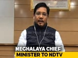 Video : Centre Ensured Good Collaboration On COVID-19: Meghalaya Chief Minister
