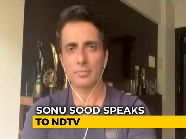 Video : Arranging Food For 38,000 People Evacuated Due To Cyclone Nisarga: Sonu Sood Tells NDTV