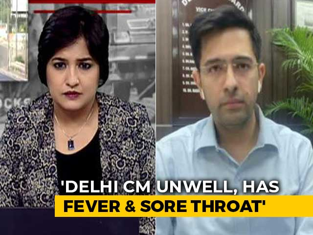 "Video : Arvind Kejriwal To Take COVID-19 Test Tomorrow, ""Frontline Warrior"", Says AAP Leader"
