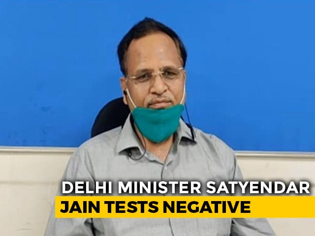 Video : Delhi Minister Satyendar Jain Recovers From COVID, To Be Discharged Today