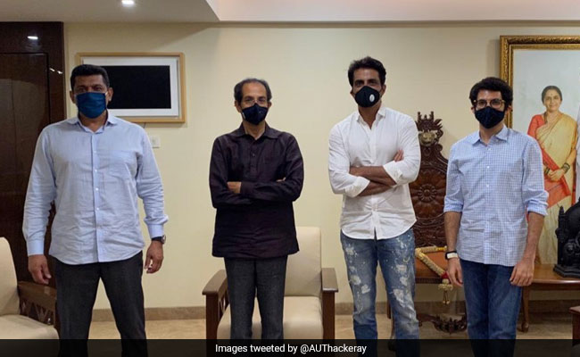 Actor Sonu Sood Meets Uddhav Thackeray After A Sena Leader's Criticism
