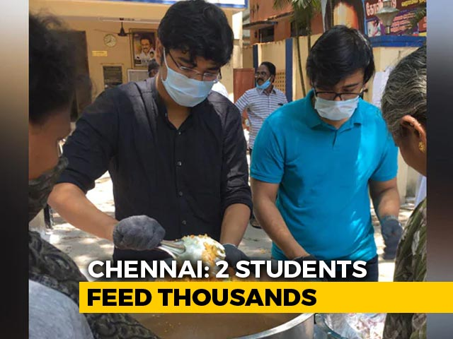 Video : Brothers Return From Ireland, Help 13,000 With Food, Ration In Chennai Amid Lockdown