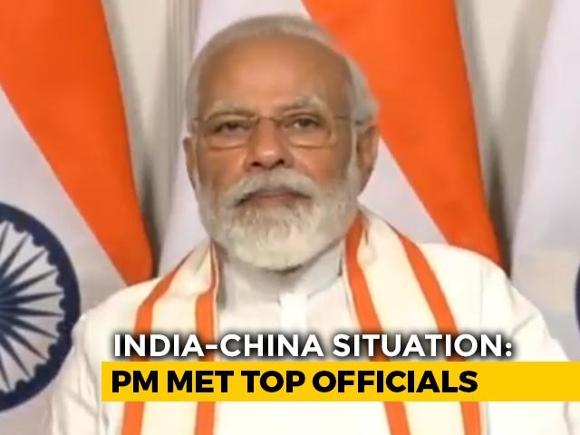 Video : PM's Late-Night Meet With Top 4 Ministers, Army Chief Over Ladakh Clash