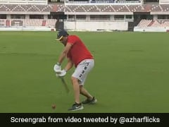 """Timing It Like Old Times"": Mohammad Azharuddin Turns Back The Clock. Watch"