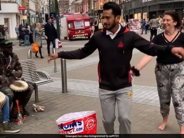 Watch: Viral Video Of Pakistan Pacer Hasan Ali Dancing With Street Musicians