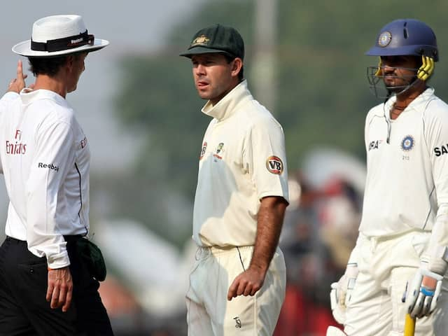 "Harbhajan Singh Says ""Ricky Ponting Was The Umpire Himself"" In 2008 Sydney Test"