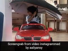 नवाजुद्दीन सिद्दीकी के बेटे ने क्वारंटीन में ढूंढी नई तरह की एक्सरसाइज, पत्नी आलिया सिद्दीकी ने शेयर किया Video