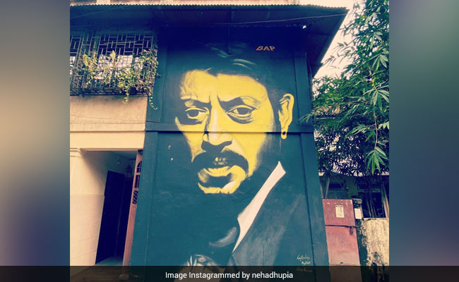 Neha Dhupia Shares 'Art In Our Bylanes' Album. In It, Sridevi And Irrfan Khan Murals
