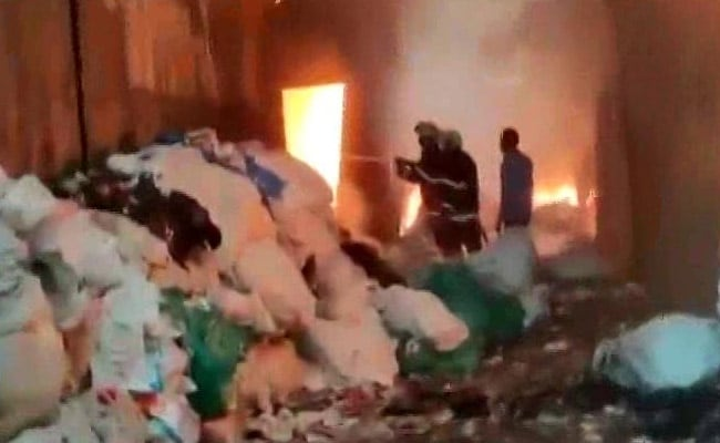Major Fire Breaks Out At Scrap Compound In Mumbai, Officials Rush To Site
