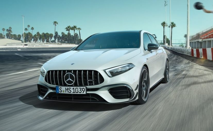 India is likely to get the range topping Mercedes-AMG A 45 S 4Matic+ model that makes 415 bhp