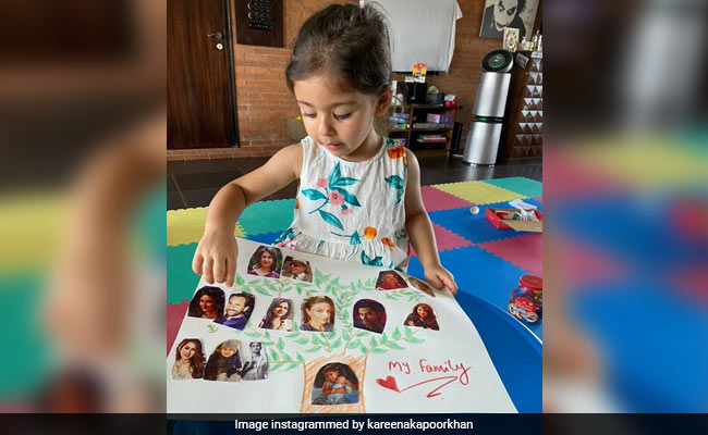 "Kareena Kapoor, In Love With The Family Tree Made By ""Beautiful Niece"" Inaaya, Did This"