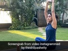 शिल्पा शेट्टी ने जानुशीर्षासन करते हुए शानदार Video किया शेयर, फैन्स से पूछा यह सवाल