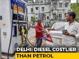 Video : The Fuel Price Flip, First Time Ever In Delhi