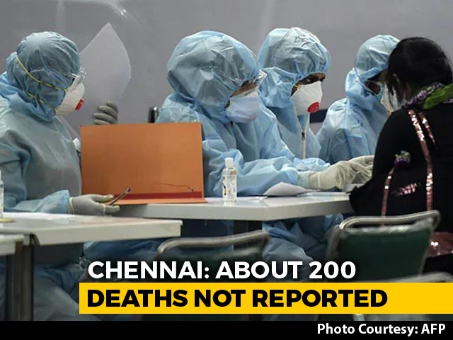 Video : Unreported COVID-19 Deaths In Chennai Could Double The City's Count