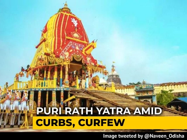 Video : Rath Yatra In Puri Today, But Without Devotees In A Historic First
