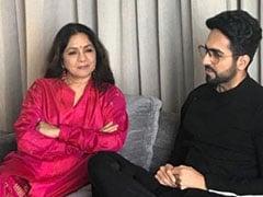 How Ayushmann Khurrana Wished His <i>Shubh Mangal Zyada Saavdhan</i> Co-Star Neena Gupta On Her Birthday