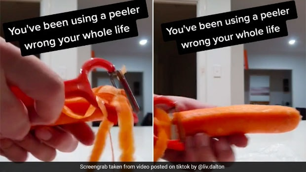 You May Have Been Peeling Fruits And Veggies Wrong All Your Life; This Video Shows Why