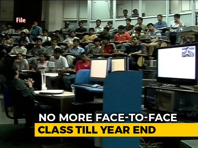 Video : IIT Bombay First Major Institute To Scrap Face-To-Face Lectures This Year