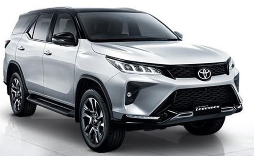2021 Toyota Fortuner Facelift Unveiled In Thailand