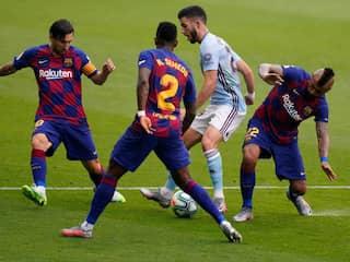 La Liga: Barcelonas Title Hopes Suffer Huge Blow After 2-2 Draw With Celta Vigo