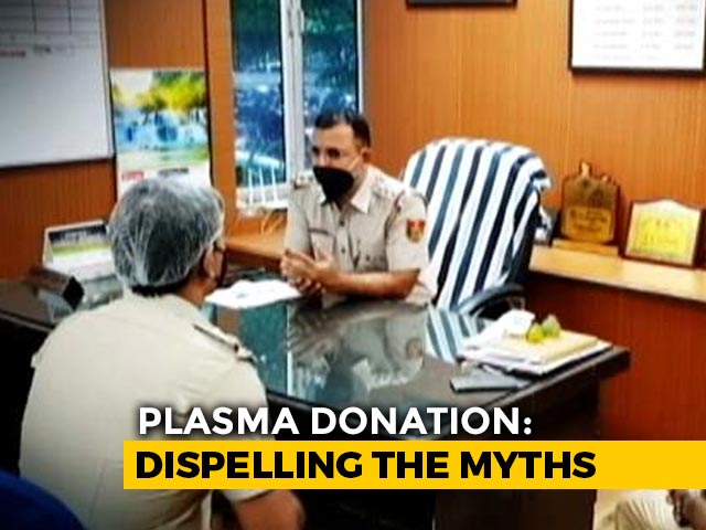 Video : Delhi Cops, Recovered From COVID-19, Donate Blood Plasma To Help Others, Dispel Myths