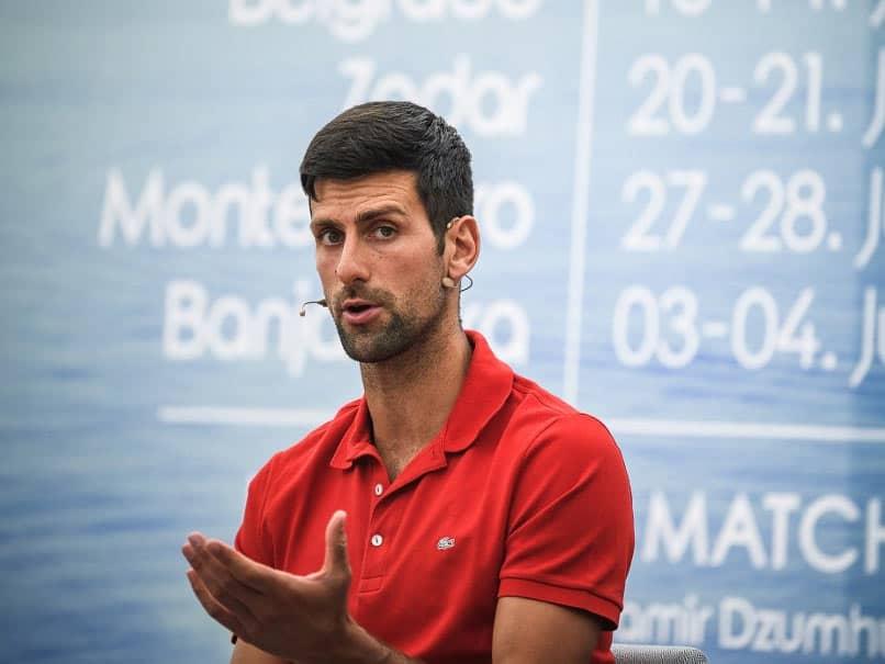 Fans Welcome As Novak Djokovic Event Helps Tennis Emerge From Coronavirus