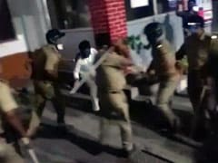 Late-Night Protests Over Arrest Of UP Congress Leader In Lucknow