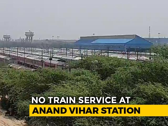 Video : Delhi's Anand Vihar Railway Station To House COVID-19 Railway Coaches