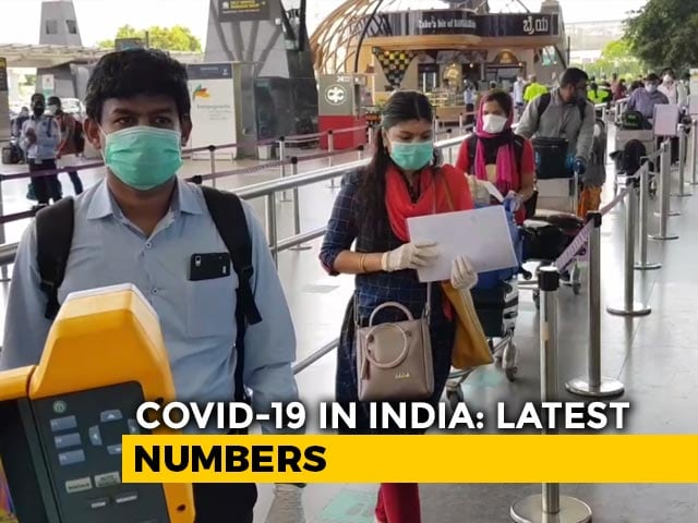 Video : Over 9,000 Coronavirus Cases In India In A Single Day For First Time