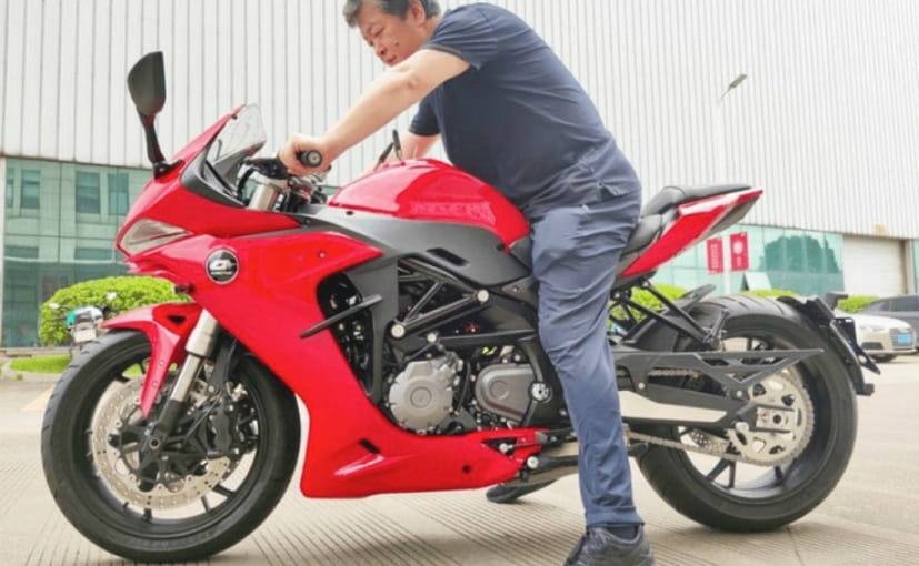 The QJ Motor SRG 600 is the Chinese parent company's version of the Benelli 600RR