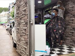 Myanmar's Salon On Wheels Cuts Coronavirus Worries
