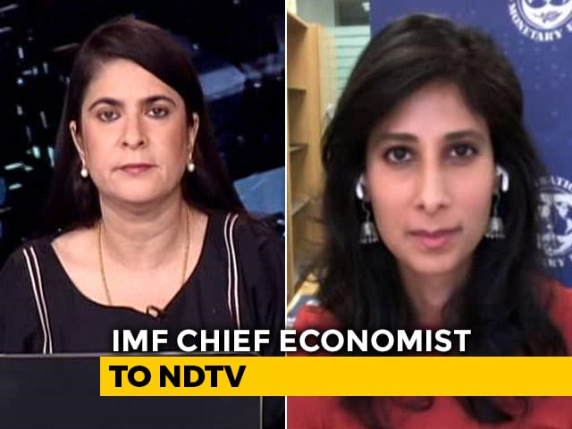 Video : India To Grow At Slightly More Than 1% Over 2 Years: IMF Chief Economist