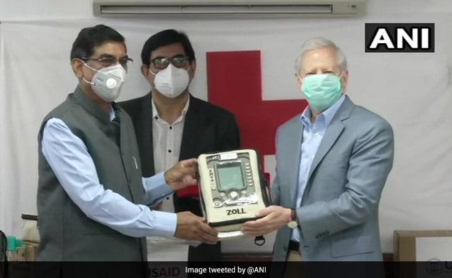 कोरोना वायरस: अमेरिका ने भारत को 100 वेंटिलेटर की पहली खेप सौंपी