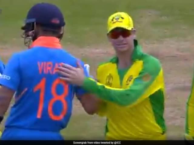 "Virat Kohli, Steve Smiths ""Wonderful Moment"" Recalled By ICC. Watch Video"