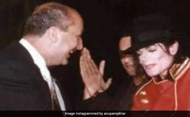 When Anupam Kher Was Almost 'Bodily Picked Up By Michael Jackson's Bodyguards'