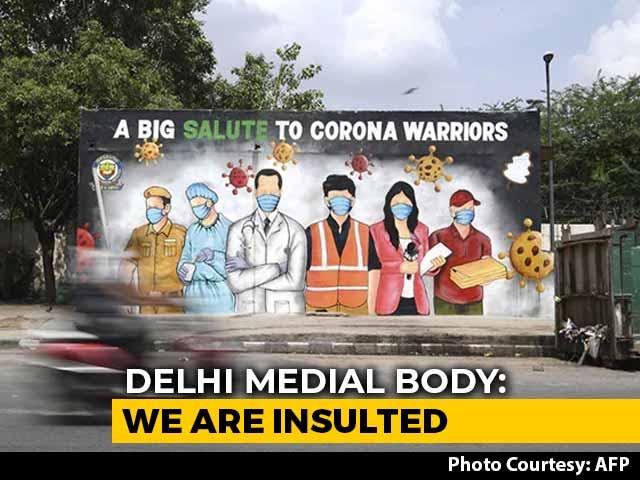 Video : Delhi Medical Body Slams Arvind Kejriwal For Warning Amid COVID-19 Crisis
