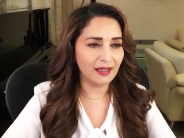 Madhuri Dixit Nene Sings For NDTV Viewers