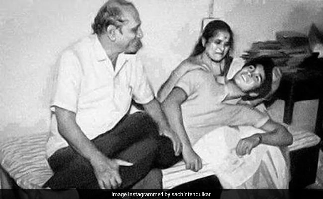 Sachin Tendulkar posts very memorable pic with parents on the Global day of parents, writes that...