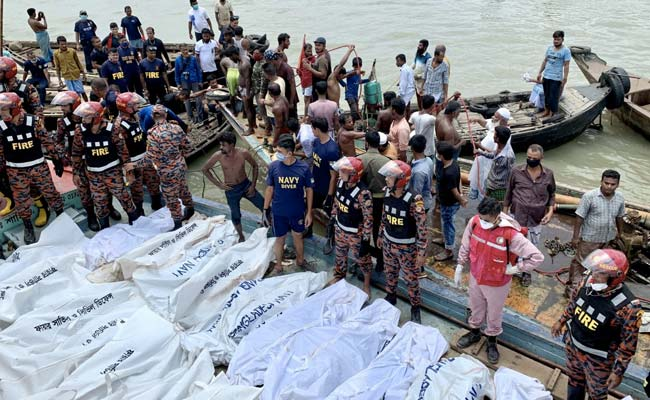 23 Die In Bangladesh Ferry Accident: Emergency Services