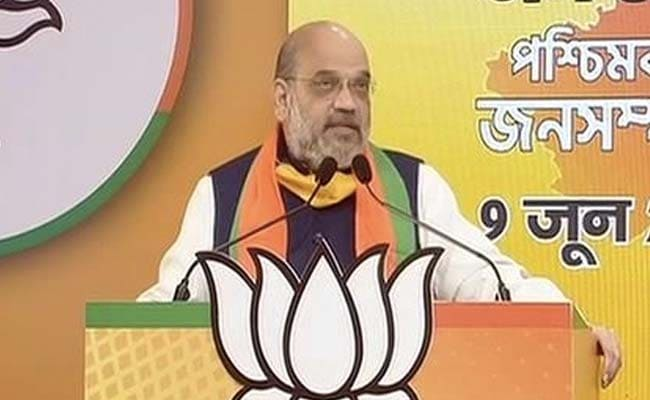 Home Minister Amit Shah Pays Tributes To Swami Vivekananda