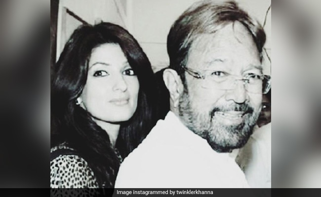 """Ahead Of Father's Day, Twinkle's Tribute To Dad Rajesh Khanna: """"The Only Man Who Had The Power To Break My Heart"""""""
