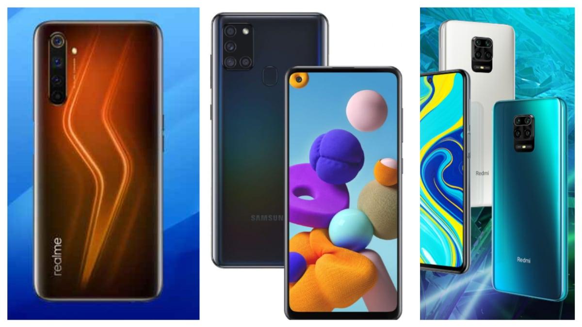 Samsung Galaxy A21s, Redmi Note 9 Pro Max और Realme 6 Pro में कौन बेहतर?
