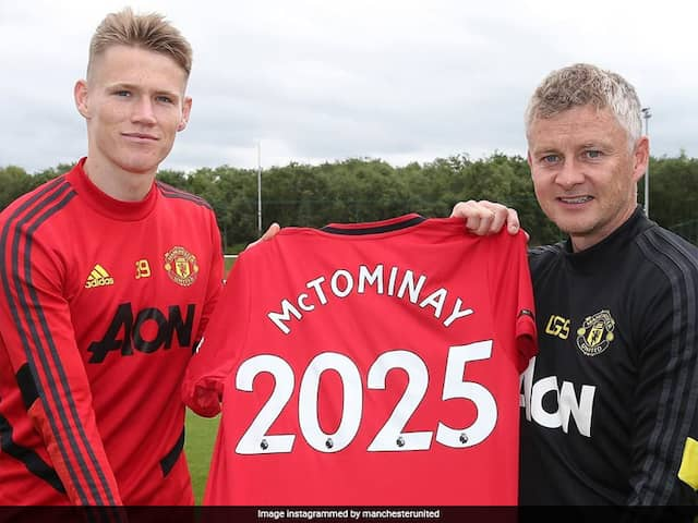 "Ole Gunnar Solskjaer ""Delighted"" With Scott McTominay Contract Extension"