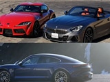 BMW Z4 vs Toyota Supra, Porsche Taycan Review